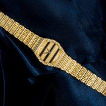 Piaget Polo MASSIVE 18KT Yg PIAGET POLO FACTORY DIAMOND SET wristwach 1990 použité