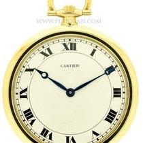 까르띠에 (Cartier) 18k yellow gold pocketwatch