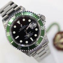 Rolex Submariner Date Green Bezel No Holes