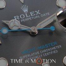 Rolex Perpetual Yacht-Master Rhodium 116622 Full Set 2017