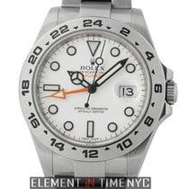 Rolex Explorer II Steel 42mm White Arabic numerals United States of America, New York, New York