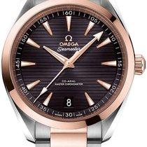 Omega 220.20.41.21.06.001 Gold/Stahl 2019 Seamaster Aqua Terra 41mm neu