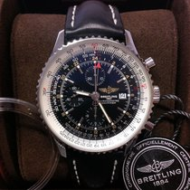 Breitling Navitimer World Black Dial - Box & Papers 2018