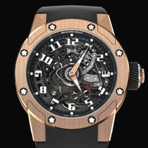 Richard Mille RM 63 Rose gold 42.70mm Transparent United States of America, New York, New York