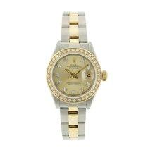 Rolex Lady-Datejust Diamond Dial Diamond Bezel Oyster -QUICKSET