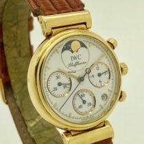 IWC IW3736 Желтое золото Da Vinci Chronograph 29mm подержанные