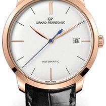 Girard Perregaux 49525-52-131-BK6A Rose gold 2018 1966 38mm new