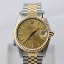 Rolex Oyster Perpetual Date / Golden Dial / Jubilee