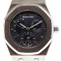 Audemars Piguet 25730ST Stål 1997 Royal Oak Dual Time 36mm begagnad