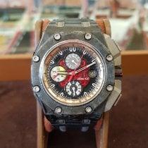 Audemars Piguet Royal Oak Offshore Grand Prix Karbon 44mm Černá Bez čísel