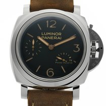 Panerai Luminor 1950 3 Days Power Reserve Steel 47mm Black United States of America, New York, New York