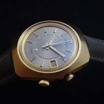 Lemania Yellow gold Automatic Grey 42mm pre-owned