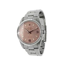Rolex Air King Precision Steel 34mm Arabic numerals United States of America, New York, New York