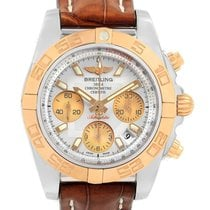 Breitling Chronomat 41 Gold/Steel 41mm White United States of America, New York, NEW YORK