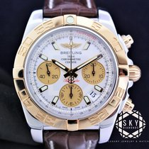 Breitling Gold/Steel 41mm Automatic CB0140 pre-owned