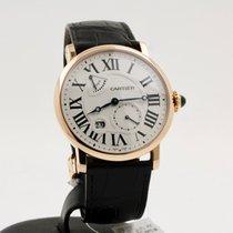 Cartier Rotonde de Cartier Roségull 42mm Hvit Romersk