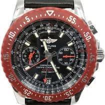 Breitling Skyracer Steel 43mm Black No numerals