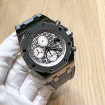 爱彼  Royal Oak Offshore Chronograph 钛 42mm 灰色 阿拉伯数字