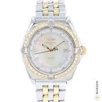 Breitling Wings Lady Acero y oro 31mm Madreperla