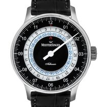 Meistersinger Steel 43mm Automatic AD902 new