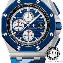Audemars Piguet Royal Oak Offshore Chronograph Stahl 44mm Blau