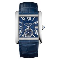 Cartier new Automatic Small Seconds 44mm Steel Sapphire Glass
