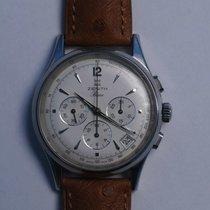 Zenith El Primero Chronograph Stahl 38mm Silber Deutschland, Wiesenbach