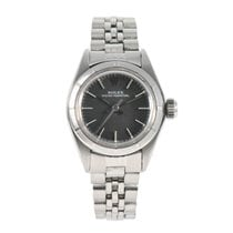 Rolex Oyster Perpetual pre-owned 25.5mm Grey Steel