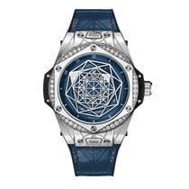 Hublot Big Bang Sang Bleu Steel 39mm Blue United States of America, New York, New York