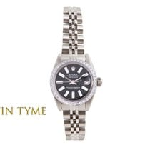 Rolex Lady-Datejust pre-owned 26mm Pink Date Steel