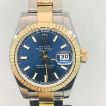 Rolex Lady-Datejust Gold/Steel 26mm Blue
