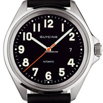 Glycine Combat 7 3898.19AT6P-LB9B Glycine Combat  Automatic movement black new