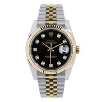 Rolex Datejust pre-owned 41mm Black Gold/Steel