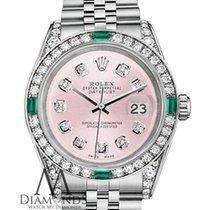 Rolex Datejust Сталь 36mm Розовый