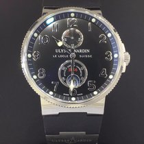 Ulysse Nardin Maxi Marine Chronometer Steel 41mm Rubber Strap...