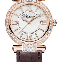 Chopard Imperiale 18K Rose Gold, Amethysts & Diamonds...