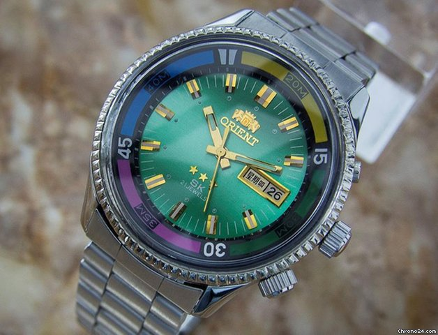 ORIENT CRYSTAL 21 JEWELS AUTOMATIC