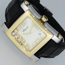 Chopard Happy Sport XL Gold/Stahl 5 Diamanten