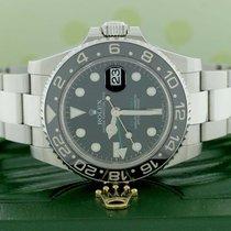 Rolex GMT-Master II 40MM Ceramic Bezel Steel Oyster 116710...