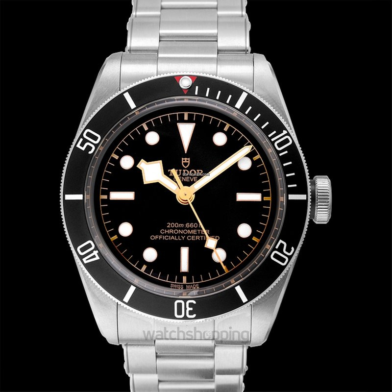 Tudor Heritage Black Bay Automatic Men S Watch 79230n Bkss
