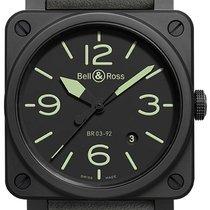 Bell & Ross BR 03-92 NIGHTLUM BR0392-BL3-CE/SCA