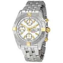 Breitling Chrono Galactic Steel 39mm White No numerals United States of America, New York, New York