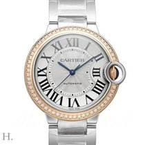 Cartier Ballon Bleu 36mm new 2019 Automatic Watch with original box and original papers WE902081