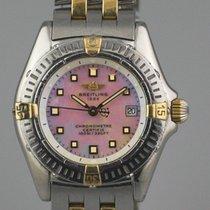Breitling B72345 Gold/Stahl Callistino 29mm gebraucht