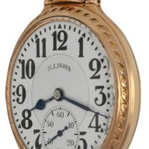 Illinois Yellow gold Manual winding pre-owned
