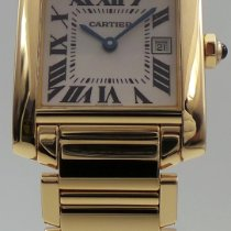 Cartier Tank Française pre-owned Yellow gold