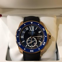 Cartier new Automatic 42mm Rose gold Sapphire crystal