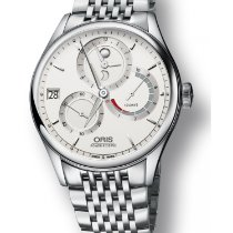 Oris Artelier Calibre 112 Steel 43mm White