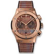 Hublot Brown new Classic Fusion Chronograph