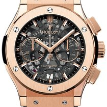 Hublot Classic Fusion Aerofusion pre-owned 45mm Rose gold